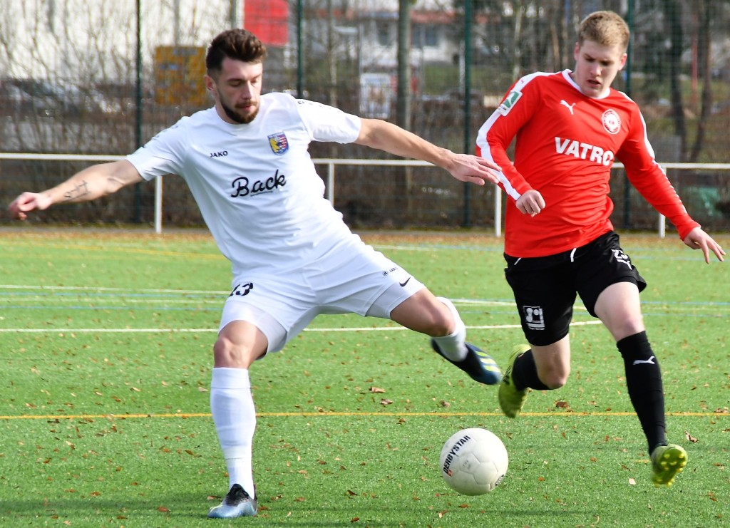 Fußball Testspiel Tsv Stadtallendorf Vs 1 Fc Kaan Marienborn